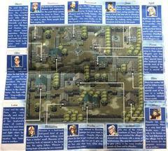 Map - Unfolded - Back | Alundra Playstation