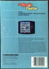 Mr. Do! Castle - Back | Mr. Do!'s Castle Atari 5200