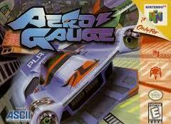 Aero Gauge - Front   Aero Gauge Nintendo 64