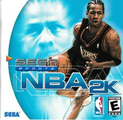 Manual - Front | NBA 2K Sega Dreamcast