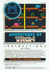 Adventures Of Tron - Instructions | Adventures of Tron Atari 2600