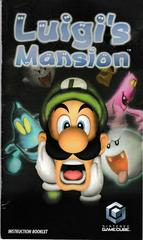 Manual - Front | Luigi's Mansion Gamecube