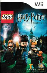Manual - Front | LEGO Harry Potter: Years 1-4 Wii