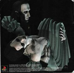 Manual - Back | Dracula The Resurrection Playstation