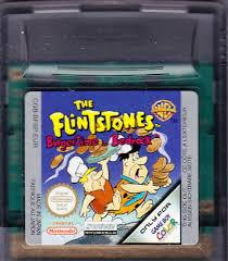 The Flintstones Burgertime In Bedrock - Cartridge | The Flintstones Burgertime in Bedrock GameBoy Color