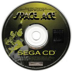 Game Disc | Space Ace Sega CD