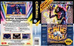 Crüe Ball Full Insert (VGO) | Crue Ball Sega Genesis