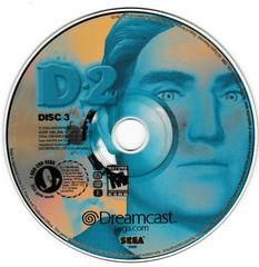 Game Disc 3 | D2 Sega Dreamcast