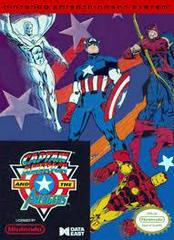 Captain America And The Avengers - Front | Captain America and the Avengers NES