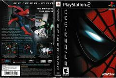 Artwork - Back, Front   Spiderman Playstation 2