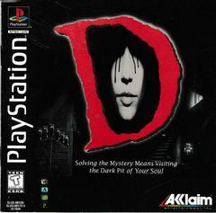 Manual - Front | D Playstation