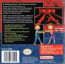Nester'S Funky Bowling - Back | Nester's Funky Bowling Virtual Boy