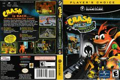 Artwork - Back, Front (Players Choice) | Crash Bandicoot The Wrath of Cortex Gamecube