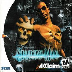 Manual - Front | Shadow Man Sega Dreamcast