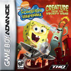 SpongeBob SquarePants Creature from Krusty Krab GameBoy Advance Prices