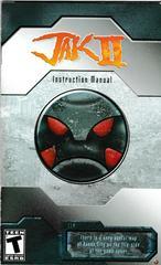 Manual - Front | Jak II Playstation 2