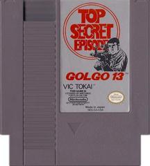 Cartridge   Golgo 13 Top Secret Episode NES