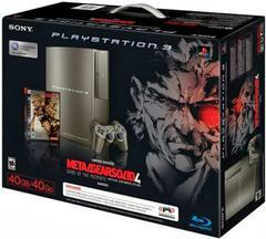 Metal Gear Solid 4 Gray Kojima Bundle Playstation 3 Prices