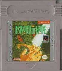 Sword Of Hope - Cartridge | Sword of Hope GameBoy