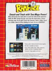 Rampage - Back | Rampage Sega Master System