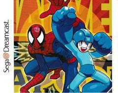 Back Of Case - Inside   Marvel vs Capcom Sega Dreamcast