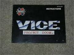 Vice Project Doom - Instructions | Vice Project Doom NES