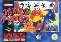James Pond's Crazy Sports PAL Super Nintendo Prices