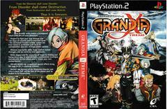 Artwork - Back, Front | Grandia Xtreme Playstation 2