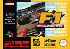 F1 World Championship Edition PAL Super Nintendo Prices