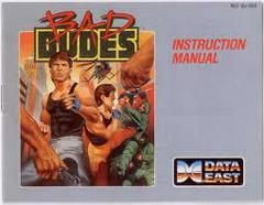 Bad Dudes - Instructions | Bad Dudes NES