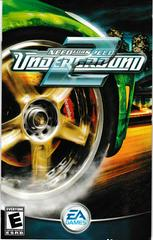 Manual - Front | Need for Speed Underground 2 Playstation 2