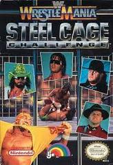 WWF Wrestlemania Steel Cage Challenge - Front | WWF Wrestlemania Steel Cage Challenge NES