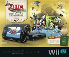 Box Front | Wii U Console Deluxe: Zelda Wind Waker Edition Wii U