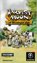 Manual - Front | Harvest Moon A Wonderful Life Gamecube