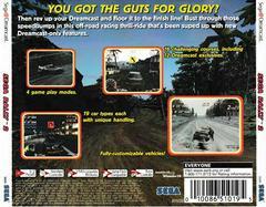 Back Of Case | Sega Rally 2 Sega Rally Championship Sega Dreamcast