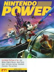 Subscriber Edition | [Volume 277] Epic Mickey 2: The Power of Two Nintendo Power