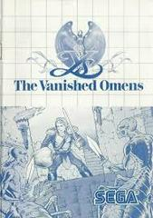 Ys The Vanished Omens - Instructions | Ys the Vanished Omens Sega Master System