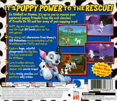 Back Of Case | 102 Dalmatians Puppies to the Rescue Playstation