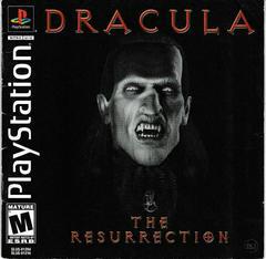 Manual - Front | Dracula The Resurrection Playstation