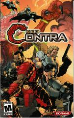 Manual - Front   Neo Contra Playstation 2