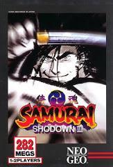 Samurai Shodown III Neo Geo AES Prices