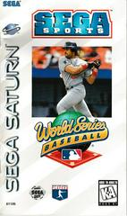 Manual - Front | World Series Baseball Sega Saturn