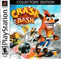 Crash Bash Manual - Front | Crash Bandicoot Collector's Edition Playstation