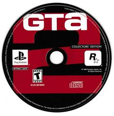 Game Disc - (SLUS-00789CE) | Grand Theft Auto Collector's Edition Playstation