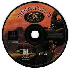 Game Disc | Oddworld Abe's Oddysee Playstation