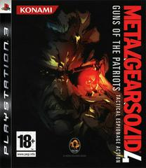 Metal Gear Solid 4: Guns of the Patriots PAL Playstation 3 Prices