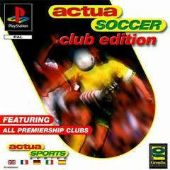 Actua Soccer Club Edition PAL Playstation Prices