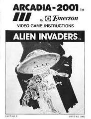 Alien Invaders - Instructions | Alien Invaders Arcadia 2001