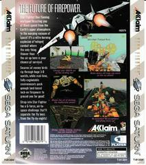 Back Of Box | Star Fighter Sega Saturn