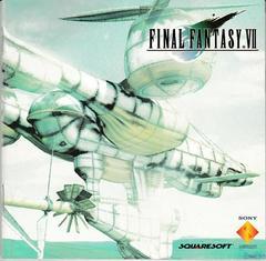 Manual - Front   Final Fantasy VII Playstation